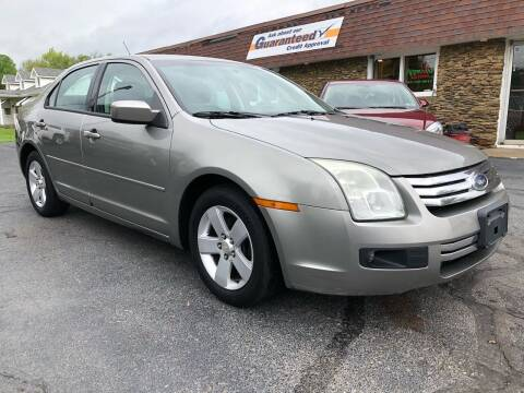 2008 Ford Fusion for sale at Approved Motors in Dillonvale OH
