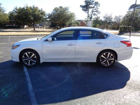 2016 Nissan Altima for sale at BALKCUM AUTO INC in Wilmington NC