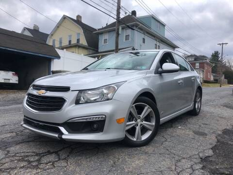 2015 Chevrolet Cruze for sale at Keystone Auto Center LLC in Allentown PA
