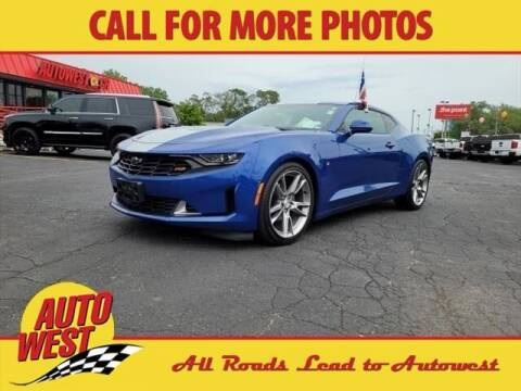 2019 Chevrolet Camaro for sale at Autowest of Plainwell in Plainwell MI