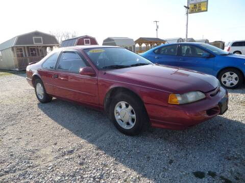 1995 Ford Thunderbird for sale at CARL'S AUTO SALES in Boody IL