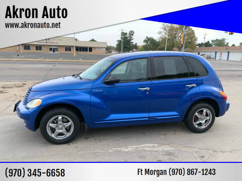 2005 Chrysler PT Cruiser for sale at Akron Auto - Fort Morgan in Fort Morgan CO