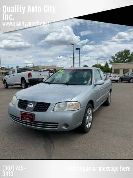 2004 Nissan Sentra for sale at Quality Auto City Inc. in Laramie WY