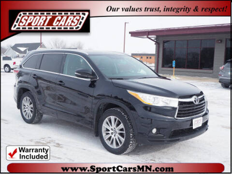 2016 Toyota Highlander for sale at SPORT CARS in Norwood MN
