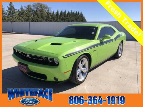 2015 Dodge Challenger for sale at Whiteface Ford in Hereford TX