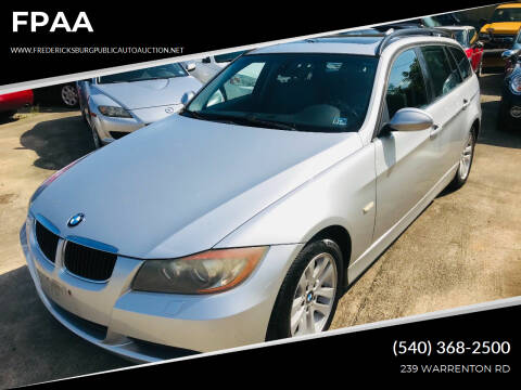 2007 BMW 3 Series for sale at FPAA in Fredericksburg VA