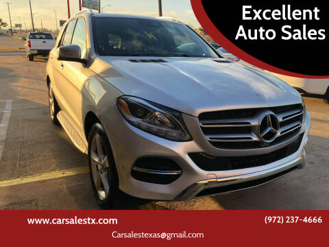 2016 Mercedes-Benz GLE for sale at Excellent Auto Sales in Grand Prairie TX