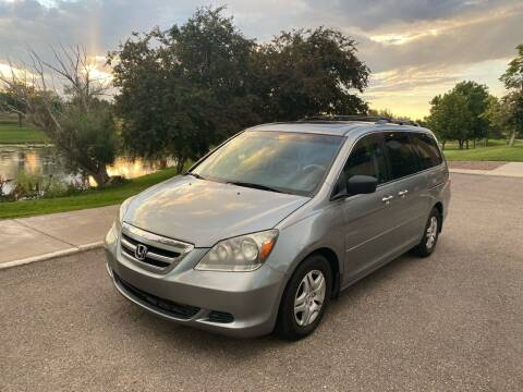 2007 Honda Odyssey for sale at QUEST MOTORS in Englewood CO