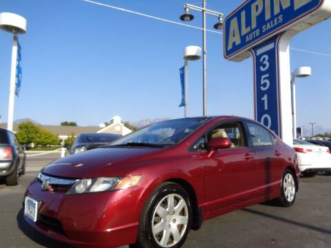 2007 Honda Civic for sale at Alpine Auto Sales in Salt Lake City UT