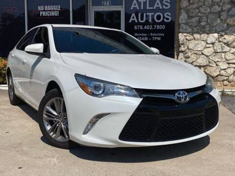 2016 Toyota Camry for sale at ATLAS AUTOS in Marietta GA