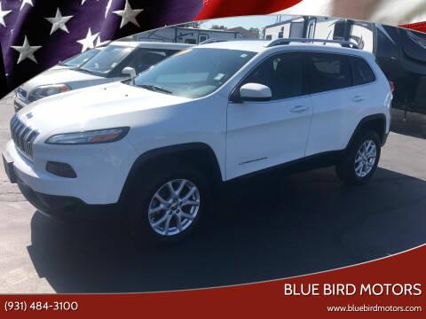 2015 Jeep Cherokee for sale at Blue Bird Motors in Crossville TN