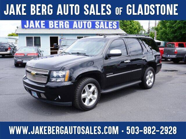 2011 Chevrolet Tahoe for sale at Jake Berg Auto Sales in Gladstone OR