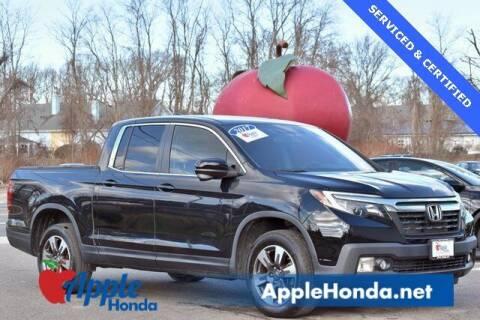 2017 Honda Ridgeline for sale at APPLE HONDA in Riverhead NY