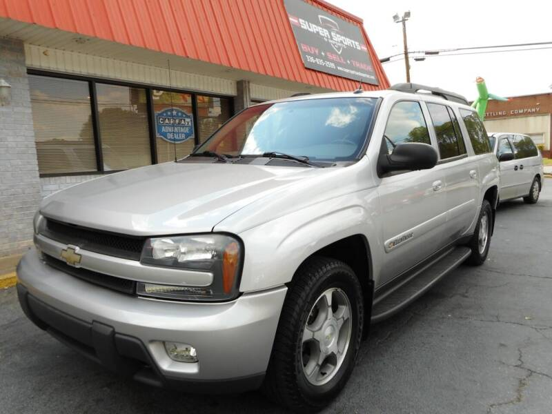 2004 Chevrolet TrailBlazer EXT for sale at Super Sports & Imports in Jonesville NC