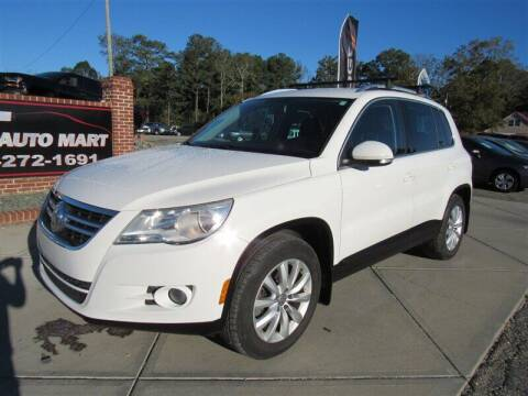 2011 Volkswagen Tiguan for sale at J T Auto Group in Sanford NC