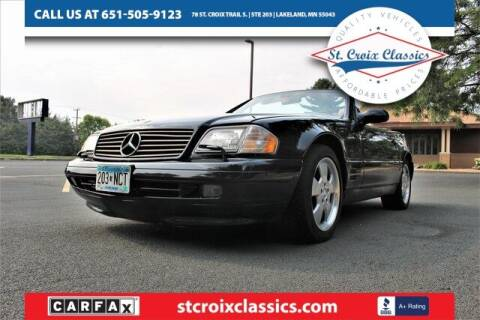 1999 Mercedes-Benz SL-Class for sale at St. Croix Classics in Lakeland MN
