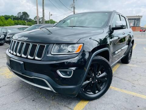 2014 Jeep Grand Cherokee for sale at Atlanta's Best Auto Brokers in Marietta GA