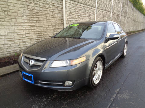2007 Acura TL for sale at Matthews Motors LLC in Algona WA
