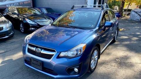 2014 Subaru Impreza for sale at ELITE MOTORS in West Haven CT