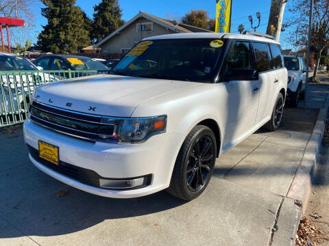 2017 Ford Flex for sale at ALL CREDIT AUTO SALES in San Jose CA