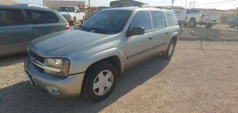 2002 Chevrolet TrailBlazer for sale at ACE AUTO SALES in Lake Havasu City AZ