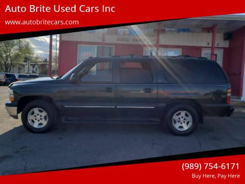 2004 Chevrolet Suburban for sale at Auto Brite Used Cars Inc in Saginaw MI
