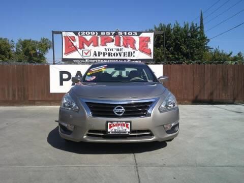 2014 Nissan Altima for sale at Empire Auto Sales in Modesto CA