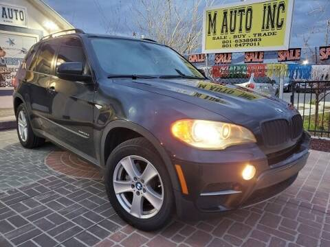 2011 BMW X5 for sale at M AUTO, INC in Millcreek UT