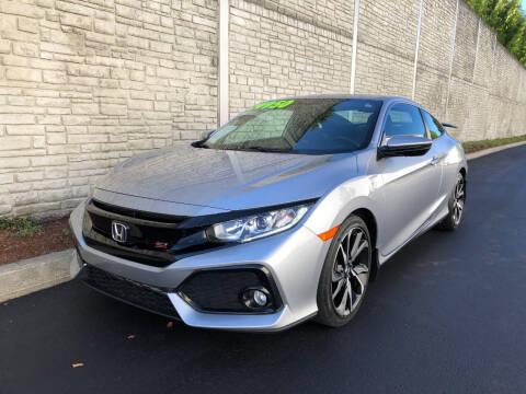 2018 Honda Civic for sale at Matthews Motors LLC in Algona WA