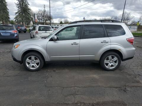 2009 Subaru Forester for sale at Drive Motor Sales in Ionia MI