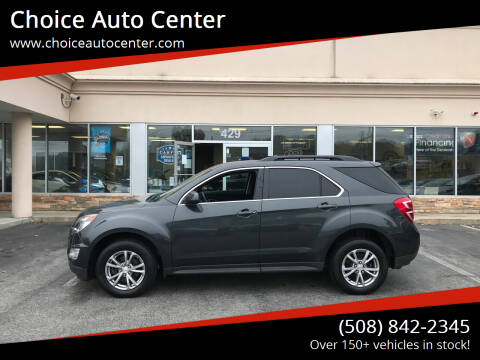 2017 Chevrolet Equinox for sale at Choice Auto Center in Shrewsbury MA
