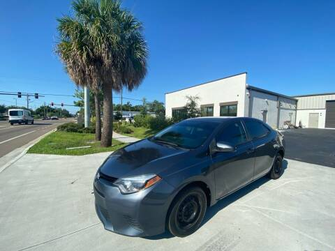2016 Toyota Corolla for sale at Bay City Autosales in Tampa FL