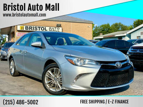 2016 Toyota Camry for sale at Bristol Auto Mall in Levittown PA