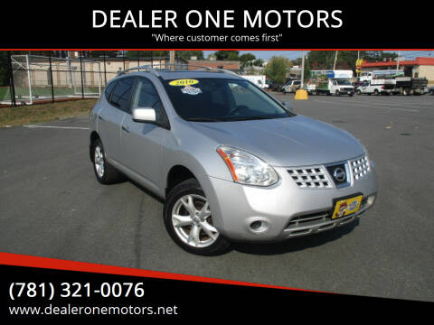 2010 Nissan Rogue for sale at DEALER ONE MOTORS in Malden MA