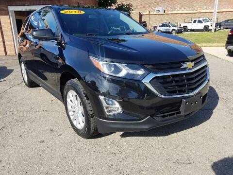 2018 Chevrolet Equinox for sale at BELLEFONTAINE MOTOR SALES in Bellefontaine OH