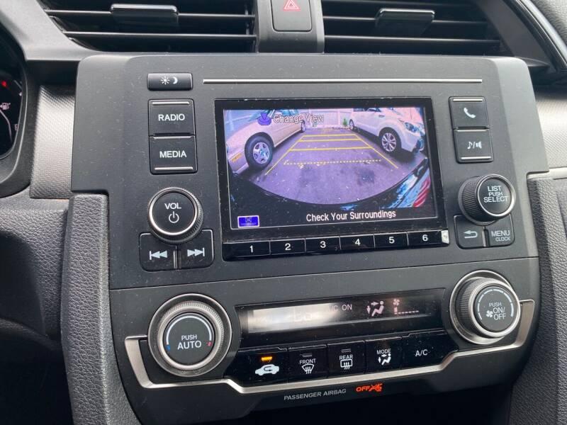 2017 Honda Civic LX 4dr Sedan CVT - Elizabeth NJ