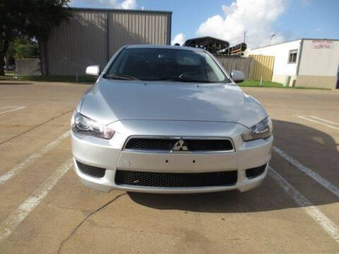 2012 Mitsubishi Lancer for sale at MOTORS OF TEXAS in Houston TX