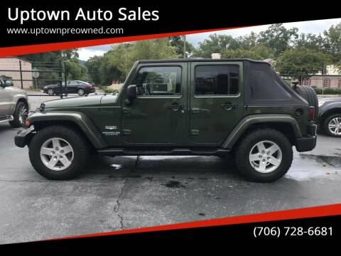 2007 Jeep Wrangler Unlimited for sale at Uptown Auto Sales in Rome GA