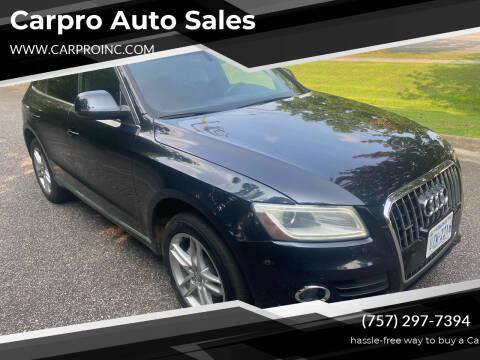 2014 Audi Q5 for sale at Carpro Auto Sales in Chesapeake VA