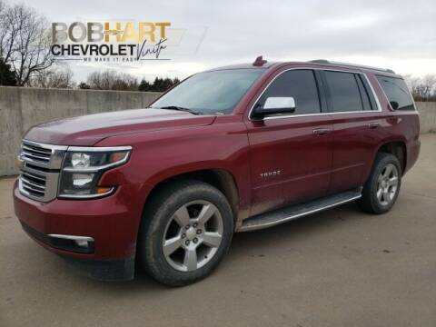 2017 Chevrolet Tahoe for sale at BOB HART CHEVROLET in Vinita OK