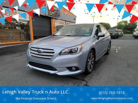 2016 Subaru Legacy for sale at Lehigh Valley Truck n Auto LLC. in Schnecksville PA