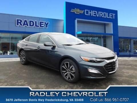 2021 Chevrolet Malibu for sale at Radley Cadillac in Fredericksburg VA