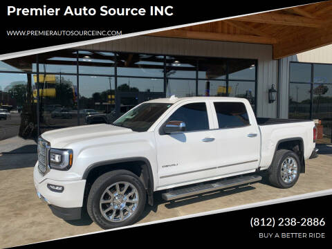 2016 GMC Sierra 1500 for sale at Premier Auto Source INC in Terre Haute IN