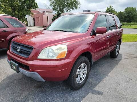 2004 Honda Pilot for sale at Lakeshore Auto Wholesalers in Amherst OH