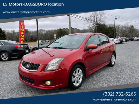 2011 Nissan Sentra for sale at ES Motors-DAGSBORO location in Dagsboro DE