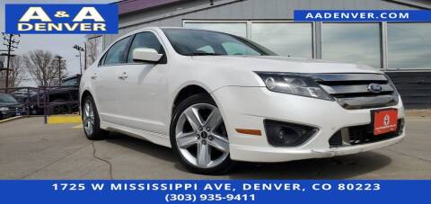 2011 Ford Fusion for sale at A & A AUTO LLC in Denver CO