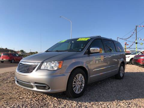 2015 Chrysler Town and Country for sale at 1st Quality Motors LLC in Gallup NM