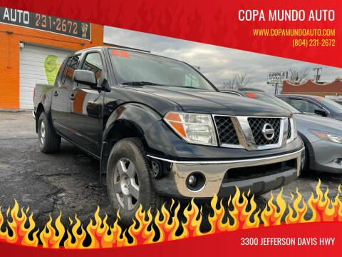 2008 Nissan Frontier for sale at Copa Mundo Auto in Richmond VA