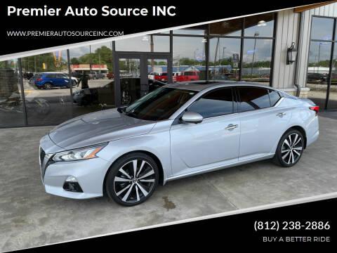 2019 Nissan Altima for sale at Premier Auto Source INC in Terre Haute IN