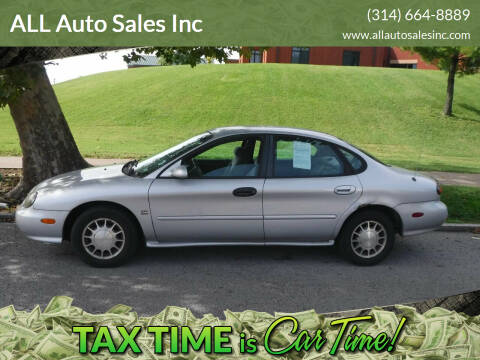 1999 Ford Taurus X for sale at ALL Auto Sales Inc in Saint Louis MO